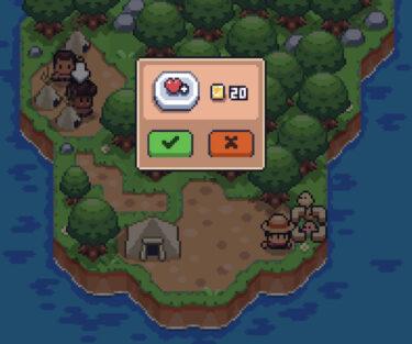 【ミニチュア無人島サバイバル】ハートを交換するのために必要なお金 まとめ 攻略