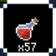 剣と勇者とレベル上げポケット 赤い薬液