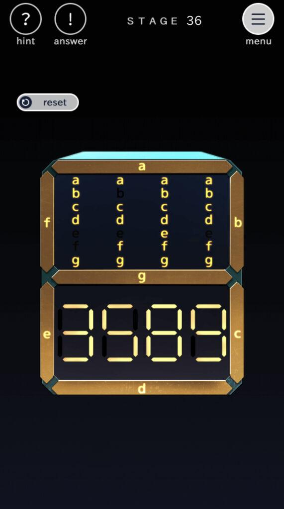 Openigmaオープニグマ ステージ36攻略